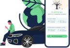 Tramling-App-Screen vor der Fahrt
