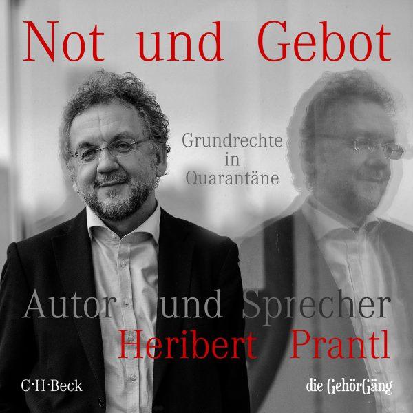 Unter www.die-gehörgäng.de/notundgebot ist das Hörbuch, gesprochen von Heribert Prantl, zum Preis von 17,99 Euro als mp3-Download erhältlich.