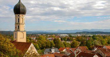 Ortsimpressionen Wolfratshausen | Ausblick