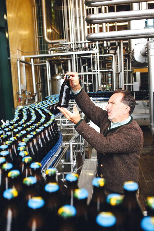 Ayinger Brauerei: Braumeister Hans-Jürgen Iwan