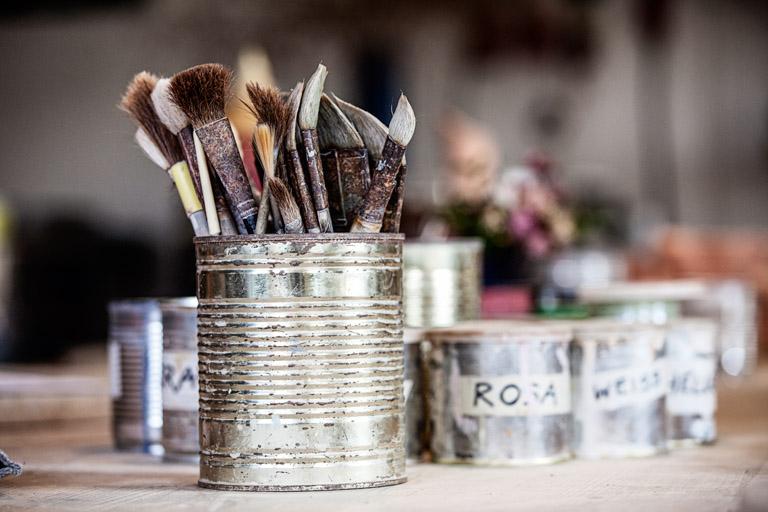 Keramikerin Corinna Post | Pinsel