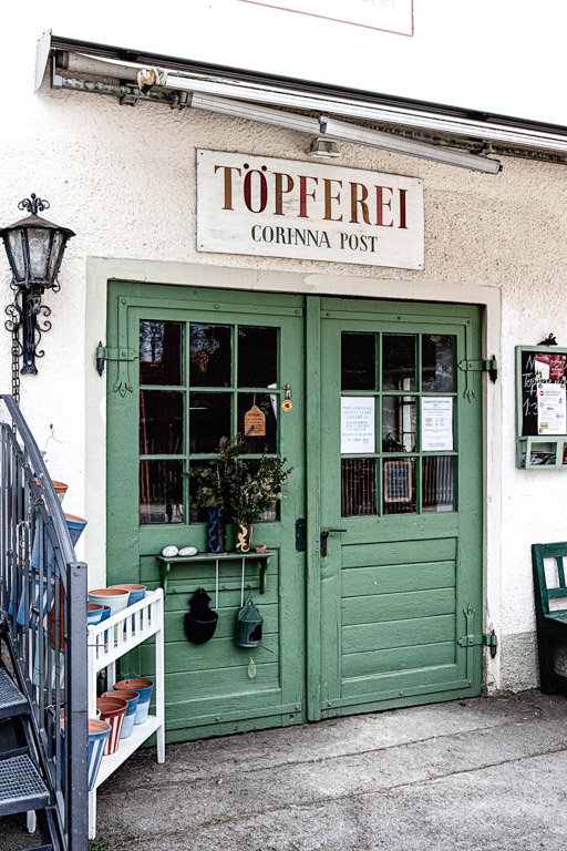 Keramikerin Corinna Post | Die Werkstatt von außen