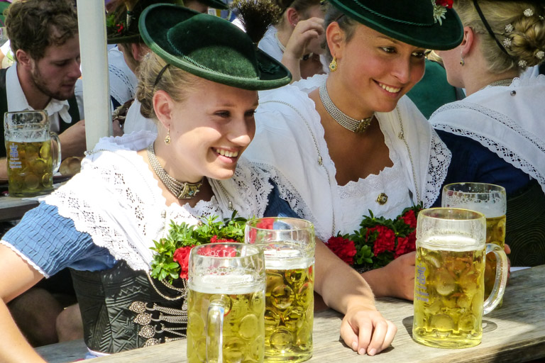 Hirschbergler Waldfest | Fesche Madeln