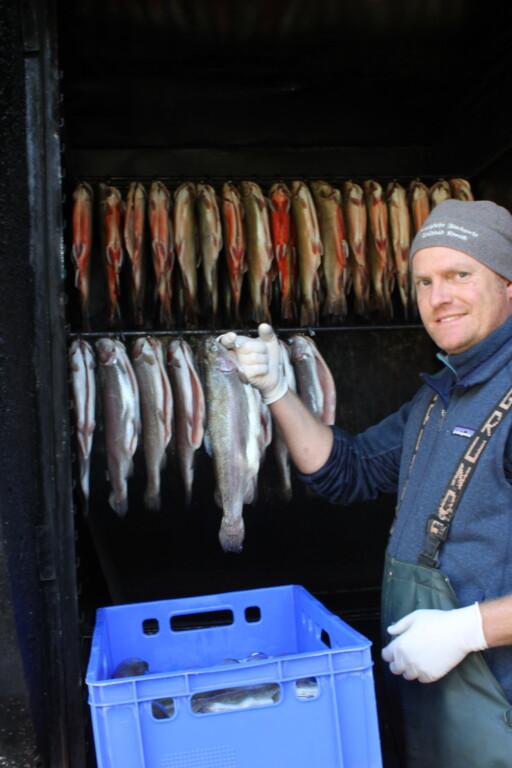 Leidenschaft für Forelle, Saibling & Co: Fischwirtschaftsmeister Alexander Wiemann