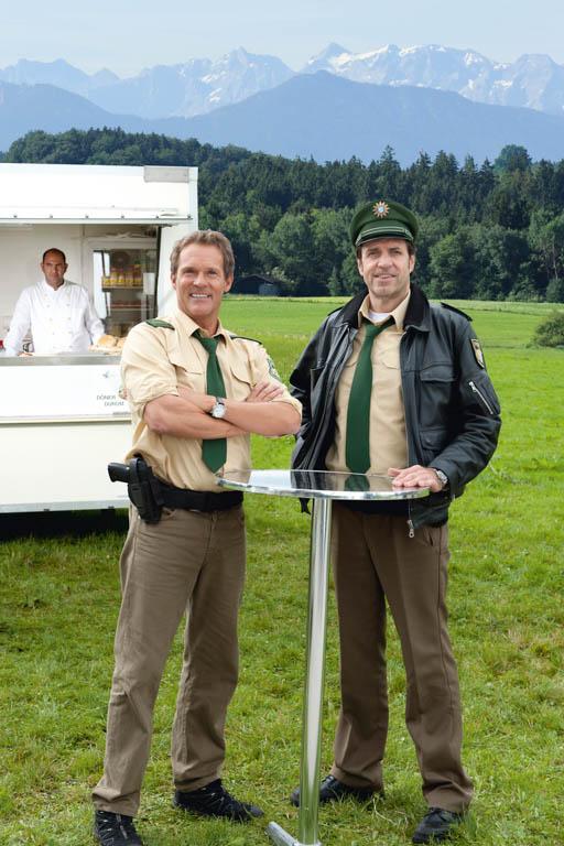 Hubert und Staller   Die Dreharbeiten