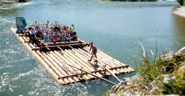 Das Isar-Loisach-Floß