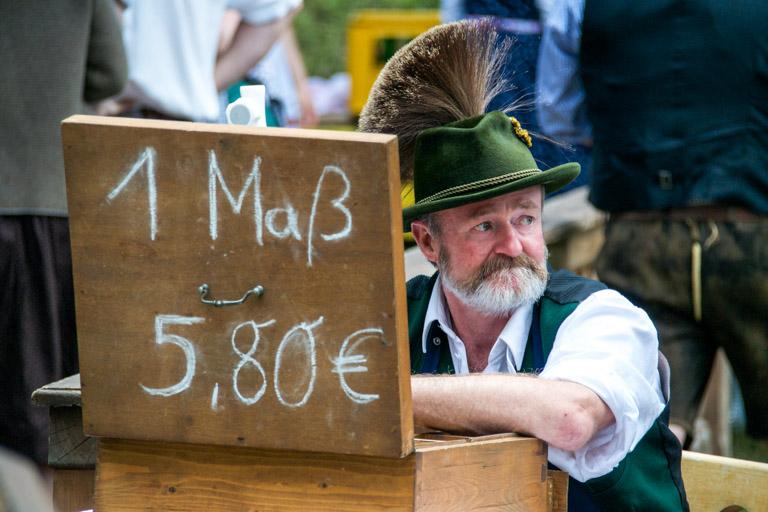 Hirschbergler Waldfest | Mass-Preis