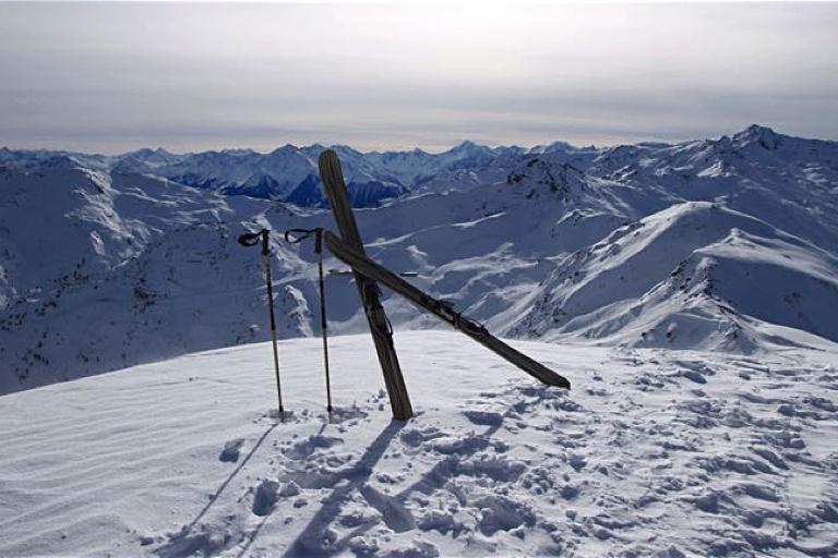 Skiselbstbau | Freerideski aus echtem Zebranoholz