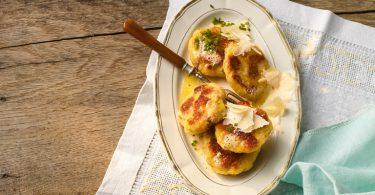 Almküche: Tiroler Pressknödel