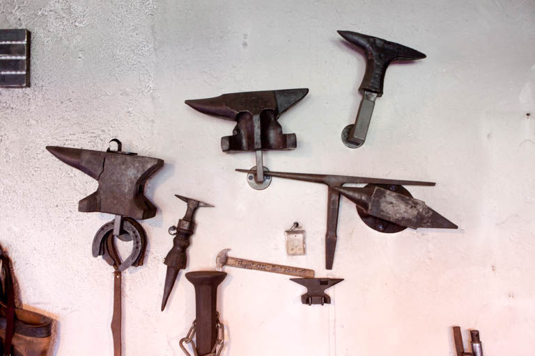 Kunstschmied Tom Carstens | Altes Schmiedewerkzeug