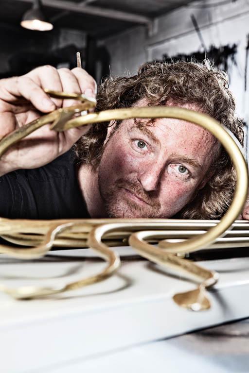 Kunstschmied Tom Carstens | Wandlampe